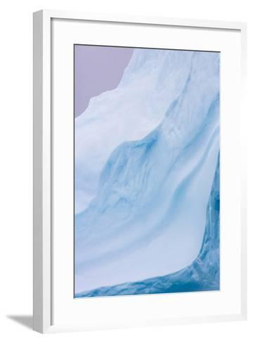 South Georgia Island. Iceberg Shapes-Jaynes Gallery-Framed Art Print