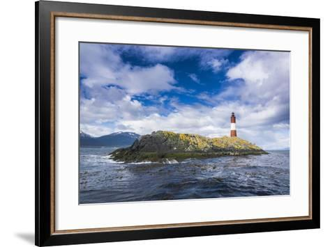 Lighthouse , the Beagle Channel, Ushuaia, Tierra Del Fuego, Argentina, South America-Michael Runkel-Framed Art Print