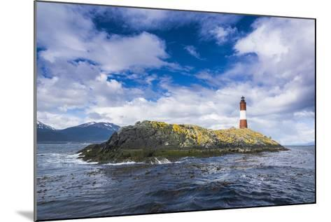 Lighthouse , the Beagle Channel, Ushuaia, Tierra Del Fuego, Argentina, South America-Michael Runkel-Mounted Photographic Print