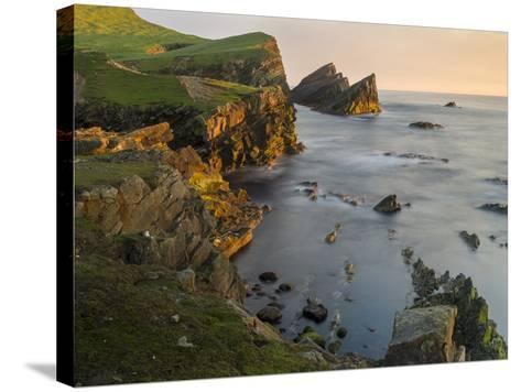 Foula Part, Shetland Islands-Martin Zwick-Stretched Canvas Print