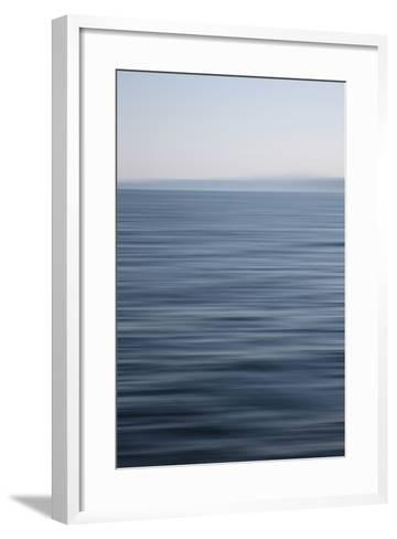 Abstract Ocean View-Savanah Stewart-Framed Art Print