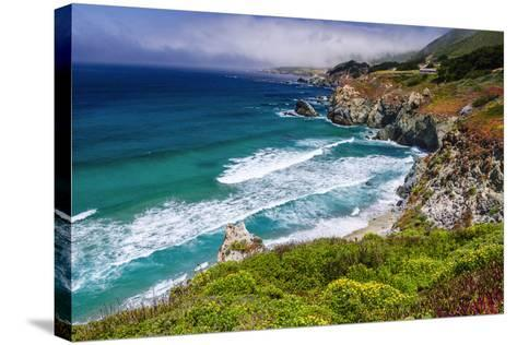 The Big Sur Coast at Rocky Point, Big Sur, California, Usa-Russ Bishop-Stretched Canvas Print