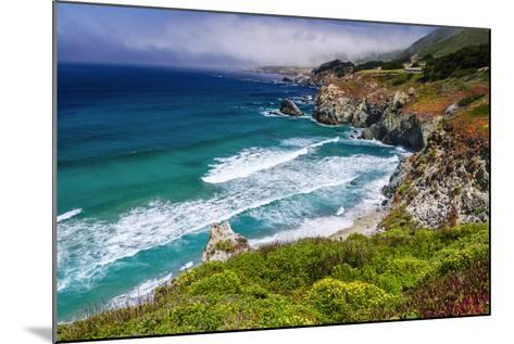 The Big Sur Coast at Rocky Point, Big Sur, California, Usa-Russ Bishop-Mounted Photographic Print