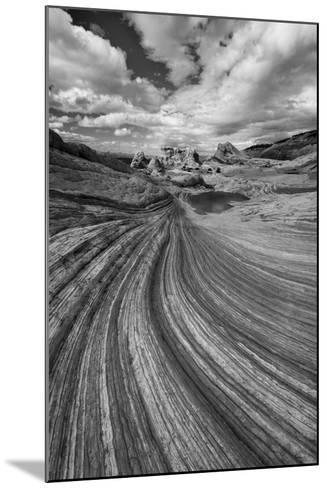 A Small Pool and Geological Formations Found at Vermillion Cliffs National Monument-Judith Zimmerman-Mounted Photographic Print