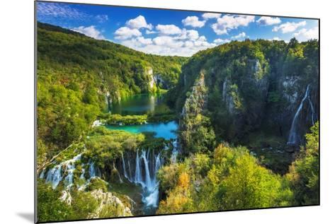 Travertine Cascades on the Korana River, Plitvice Lakes National Park, Croatia-Russ Bishop-Mounted Photographic Print
