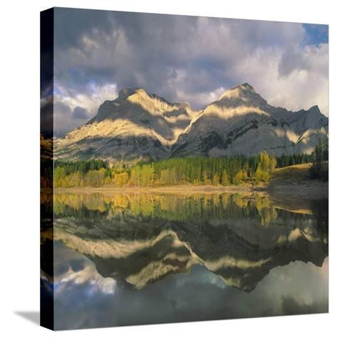 Mount Kidd, Kananaskis Country, Alberta-Tim Fitzharris-Stretched Canvas Print