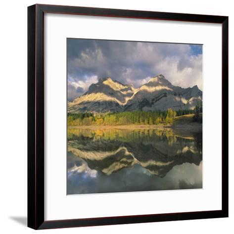 Mount Kidd, Kananaskis Country, Alberta-Tim Fitzharris-Framed Art Print