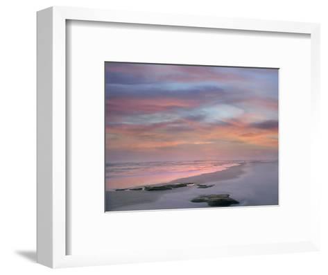 Sunset at Matanzas Beach, Florida, Usa-Tim Fitzharris-Framed Art Print