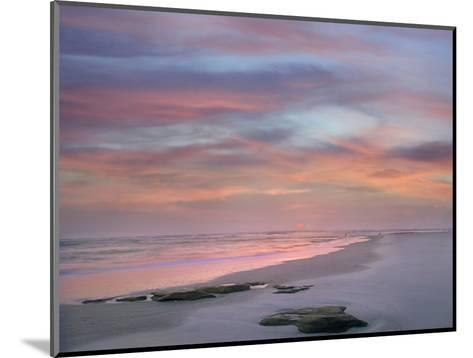 Sunset at Matanzas Beach, Florida, Usa-Tim Fitzharris-Mounted Photographic Print