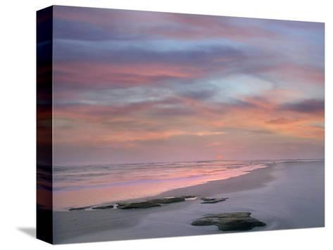 Sunset at Matanzas Beach, Florida, Usa-Tim Fitzharris-Stretched Canvas Print