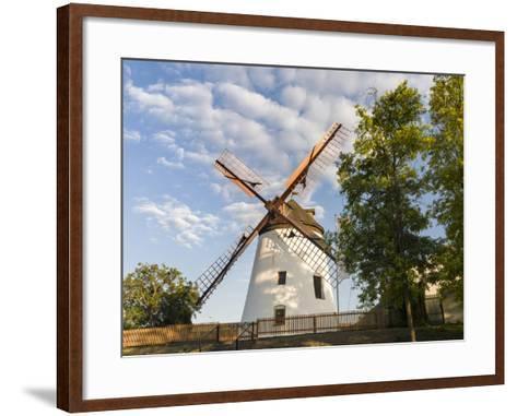 Podersdorf Am See on the Shore of Lake Neusiedl, Burgenland, Austria-Martin Zwick-Framed Art Print