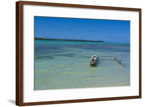 Ile Des Pins, New Caledonia, Melanesia, South Pacific-Michael Runkel-Framed Art Print