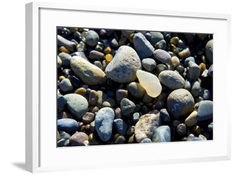 Haida Gwaii Islands, British Columbia. Agates are Found on Many of the Beaches on Graham Island-Richard Wright-Framed Art Print