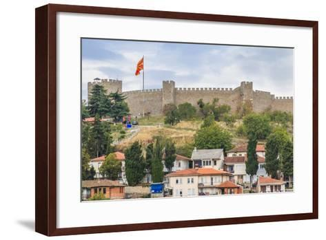 Macedonia, Ohrid, Czar Samuel's Fortress. Ohrid-Emily Wilson-Framed Art Print
