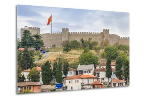 Macedonia, Ohrid, Czar Samuel's Fortress. Ohrid-Emily Wilson-Metal Print