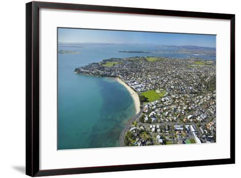 St. Heliers Bay, Auckland, North Island, New Zealand-David Wall-Framed Art Print