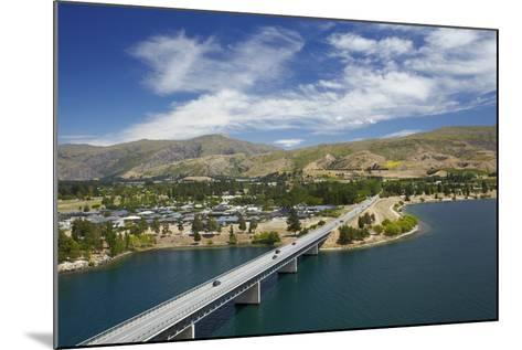 Deadman's Point Bridge and Lake Dunstan, Cromwell, Central Otago, South Island, New Zealand-David Wall-Mounted Photographic Print