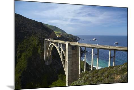 Bixby Creek Bridge, Pacific Coast Highway, Big Sur, Central Coast, California, Usa-David Wall-Mounted Photographic Print