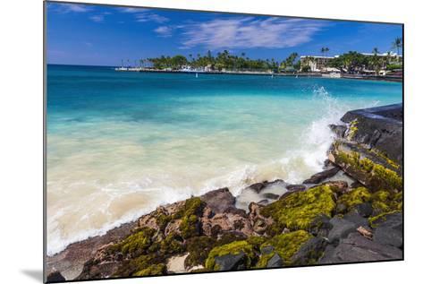 Niumalu Beach at Kailua Bay, Kailua-Kona, the Big Island, Hawaii, Usa-Russ Bishop-Mounted Photographic Print
