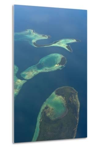 Aerials of the Russell Islands, Solomon Islands, Pacific-Michael Runkel-Metal Print