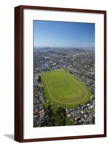 Avondale Racecourse, Auckland, North Island, New Zealand-David Wall-Framed Art Print