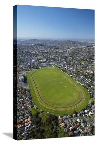 Avondale Racecourse, Auckland, North Island, New Zealand-David Wall-Stretched Canvas Print