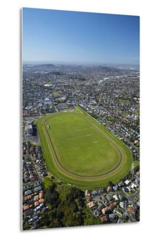 Avondale Racecourse, Auckland, North Island, New Zealand-David Wall-Metal Print