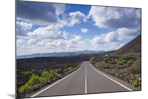 Spain, Canary Islands, Lanzarote, El Capitan, Lz-201 Road-Walter Bibikow-Mounted Photographic Print