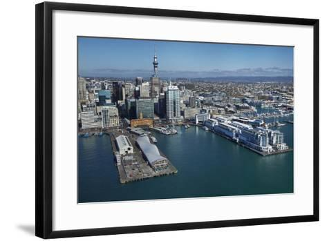 The Cloud Events Venue, Queen's Wharf, Auckland Waterfront, North Island, New Zealand-David Wall-Framed Art Print