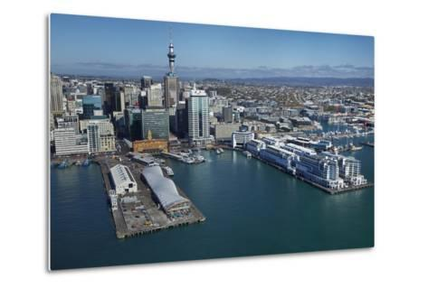 The Cloud Events Venue, Queen's Wharf, Auckland Waterfront, North Island, New Zealand-David Wall-Metal Print