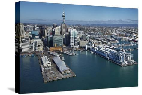 The Cloud Events Venue, Queen's Wharf, Auckland Waterfront, North Island, New Zealand-David Wall-Stretched Canvas Print