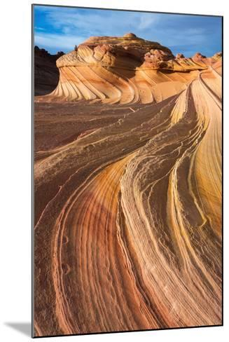 The Wave, Coyote Buttes, Paria-Vermilion Cliffs Wilderness, Arizona-Russ Bishop-Mounted Photographic Print