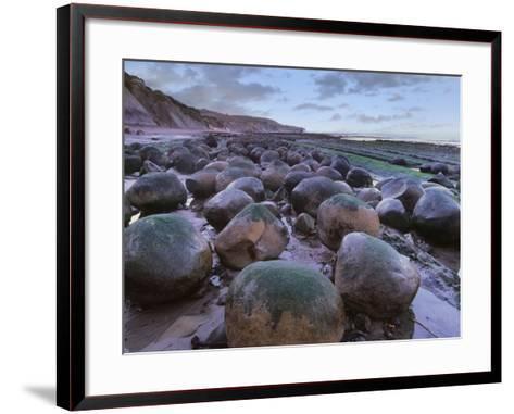 Bowling Ball Beach, California, Usa-Tim Fitzharris-Framed Art Print