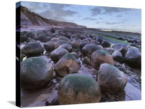 Bowling Ball Beach, California, Usa-Tim Fitzharris-Stretched Canvas Print