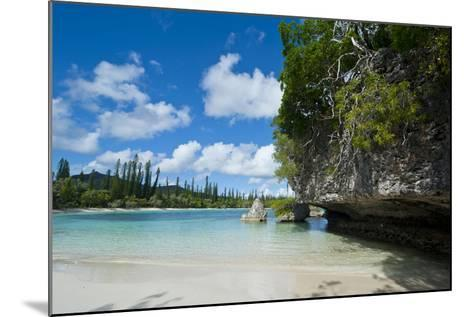 White Sand Beach, Bay De Kanumera, Ile Des Pins, New Caledonia, South Pacific-Michael Runkel-Mounted Photographic Print