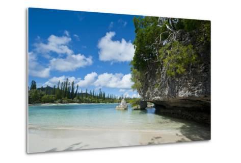 White Sand Beach, Bay De Kanumera, Ile Des Pins, New Caledonia, South Pacific-Michael Runkel-Metal Print