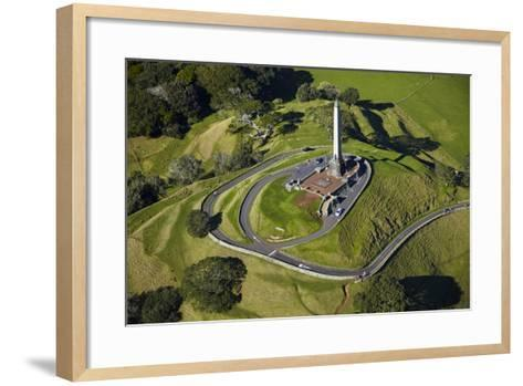 One Tree Hill Domain, Auckland, North Island, New Zealand-David Wall-Framed Art Print