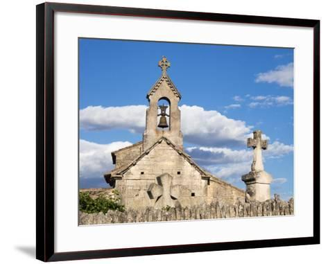 France, a Classified Historic Monument from the 12th Century-Julie Eggers-Framed Art Print