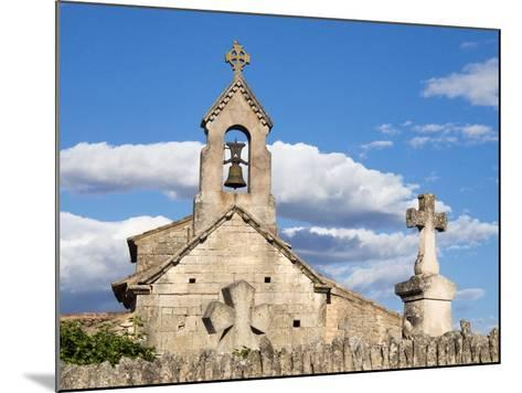 France, a Classified Historic Monument from the 12th Century-Julie Eggers-Mounted Photographic Print