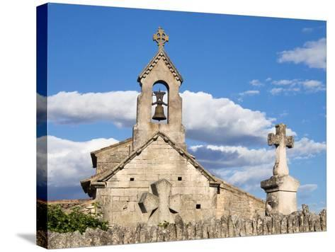 France, a Classified Historic Monument from the 12th Century-Julie Eggers-Stretched Canvas Print