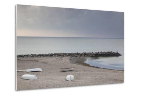 Denmark, Zealand, Tisvildeleje, View of Hesselo Bay-Walter Bibikow-Metal Print