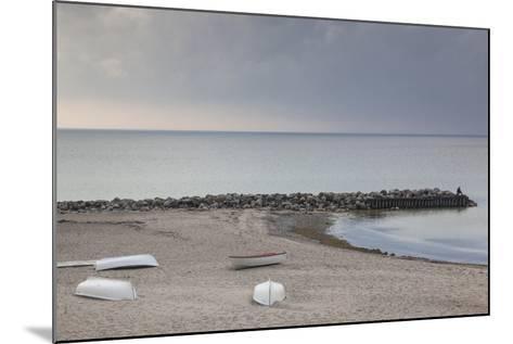 Denmark, Zealand, Tisvildeleje, View of Hesselo Bay-Walter Bibikow-Mounted Photographic Print