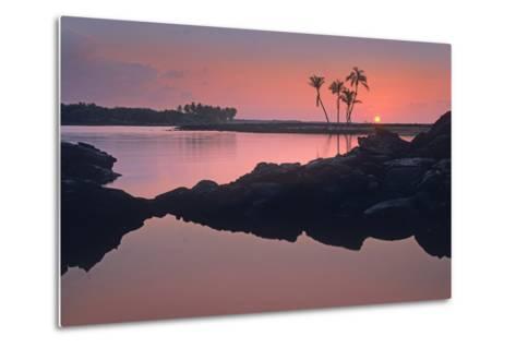Kiholo Bay, the Big Island, Hawaii, Usa-Tim Fitzharris-Metal Print