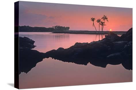 Kiholo Bay, the Big Island, Hawaii, Usa-Tim Fitzharris-Stretched Canvas Print