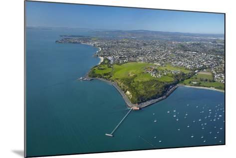 Orakei Wharf and Bastion Point, Auckland, North Island, New Zealand-David Wall-Mounted Photographic Print