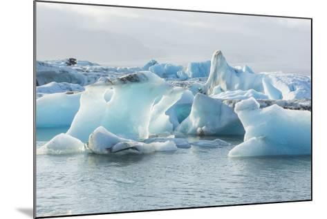 Iceland. Jokulsarlon Glaciers and Icebergs , Southeast Iceland-Bill Bachmann-Mounted Photographic Print