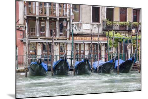 Gondola. Grand Canal. Venice, Italy-Tom Norring-Mounted Photographic Print