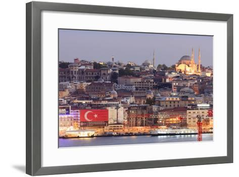 Suleymaniye Mosque. Istanbul. Turkey-Tom Norring-Framed Art Print