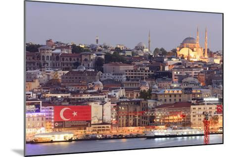 Suleymaniye Mosque. Istanbul. Turkey-Tom Norring-Mounted Photographic Print
