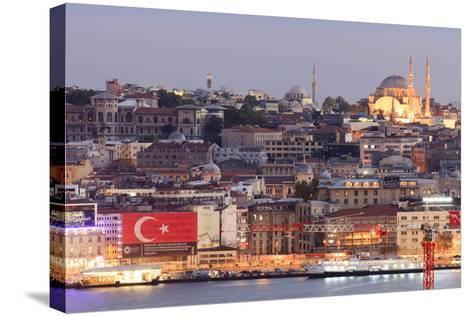 Suleymaniye Mosque. Istanbul. Turkey-Tom Norring-Stretched Canvas Print